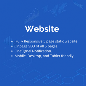 Static website in lowest budget